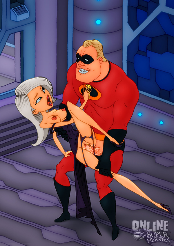 mrs. incredible Batman the brave and the bold poison ivy