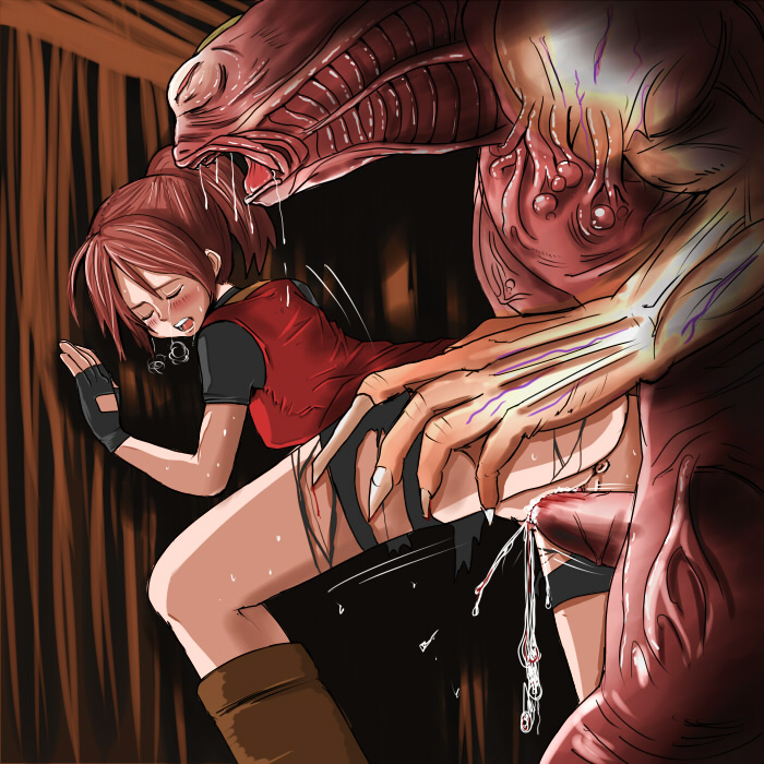 claire redfield porn evil resident Rick and morty rick drool