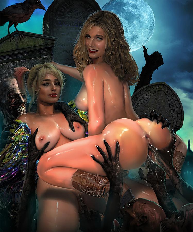 pictures nude quinn of harley Majikoi oh samurai girl uncensored