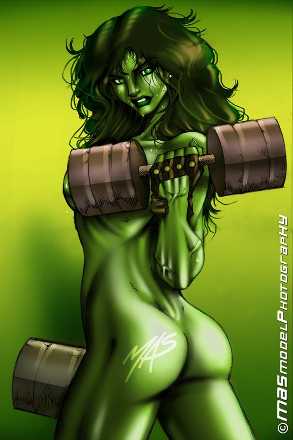 she hulk and porn hulk Centaur no nayami