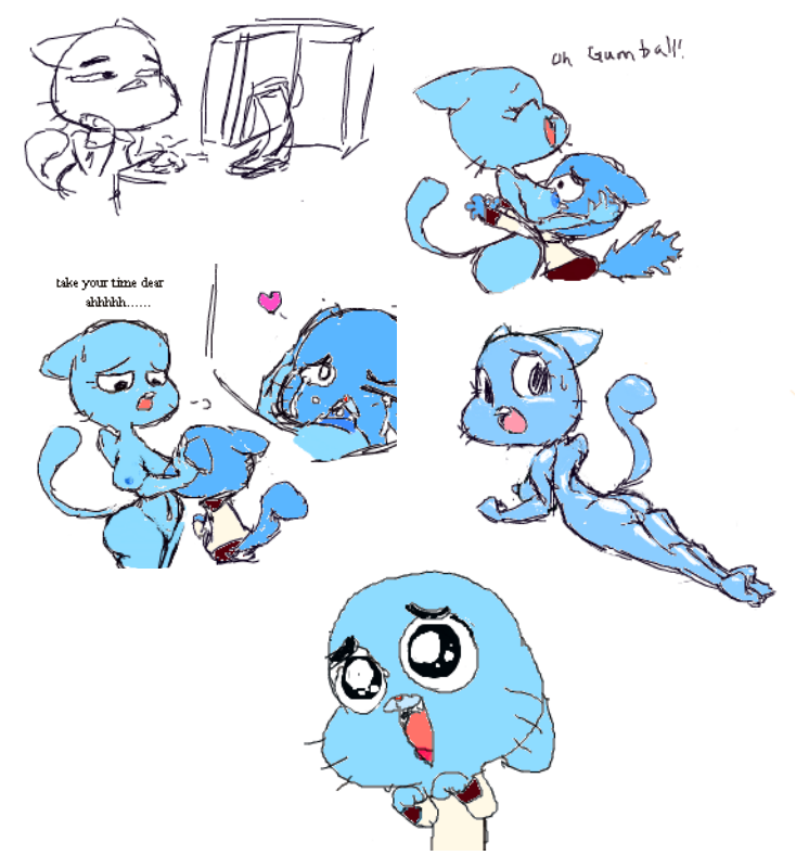 gumball world amazing of pictures Girlfriends 4 ever amazing 3d animated futa