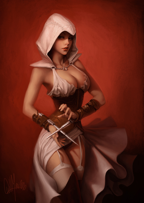 elise assassin's creed unity nude Dr. joshua strongbear sweet