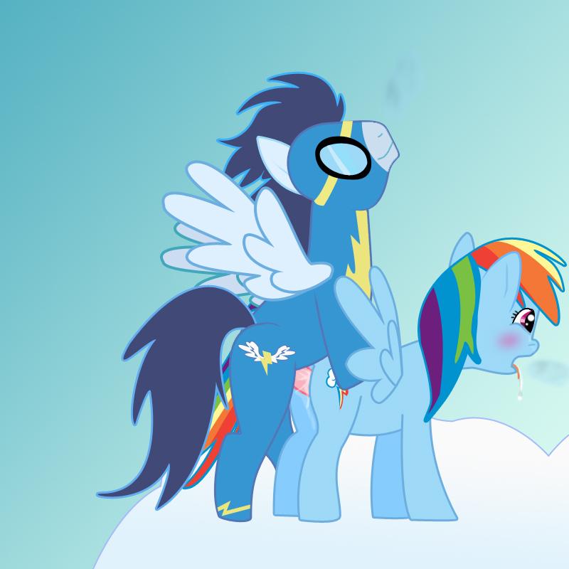 dash rainbow my and soarin pony little :ok_hand: