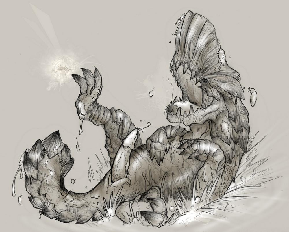 monster bat puffy hunter world Shinmai maou no testament xxx