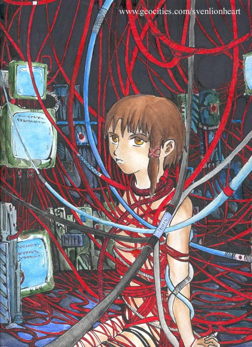 lain serial experiments Vampire the masquerade bloodlines clothes