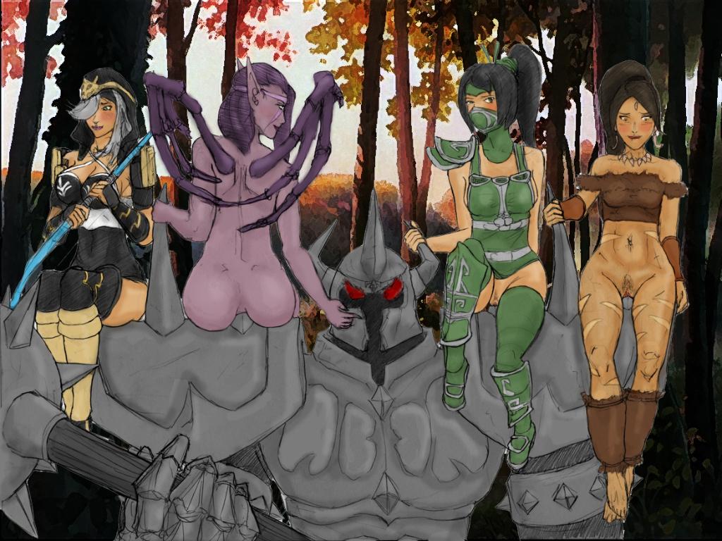 of league elegends Scooby doo camp scare daphne