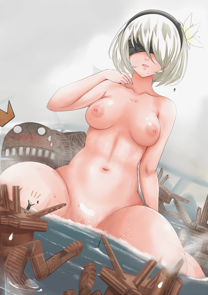 nier rampaging medium automata biped Shoujo-tachi no sadism the animation uncensored