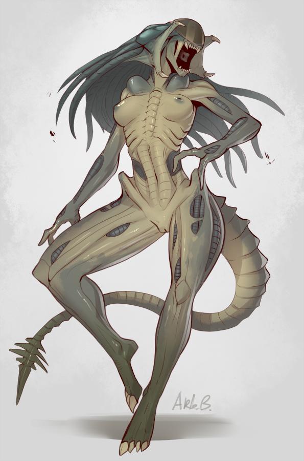 predator vs alien Hizashi no naka no riaru