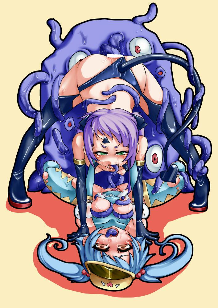 all through way tentacle hentai the D-gray-man