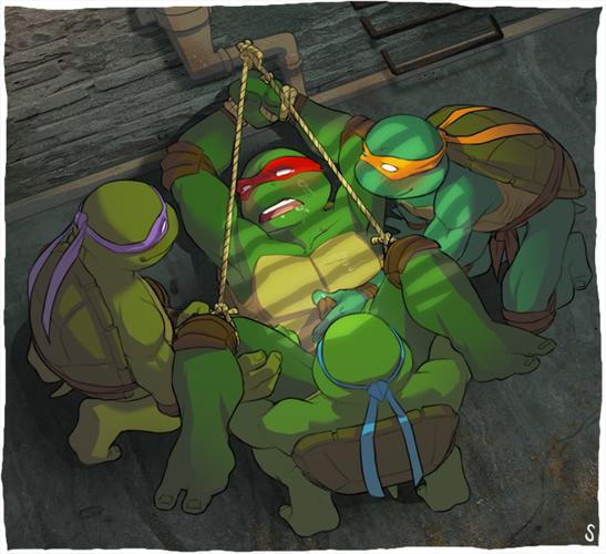 ninja mutant teenage turtles Re:zero rem and ram