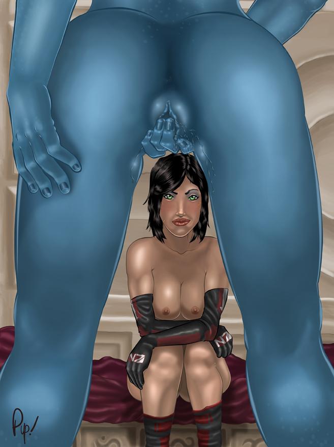 3 t'soni mass effect liara Teen titans go robin naked