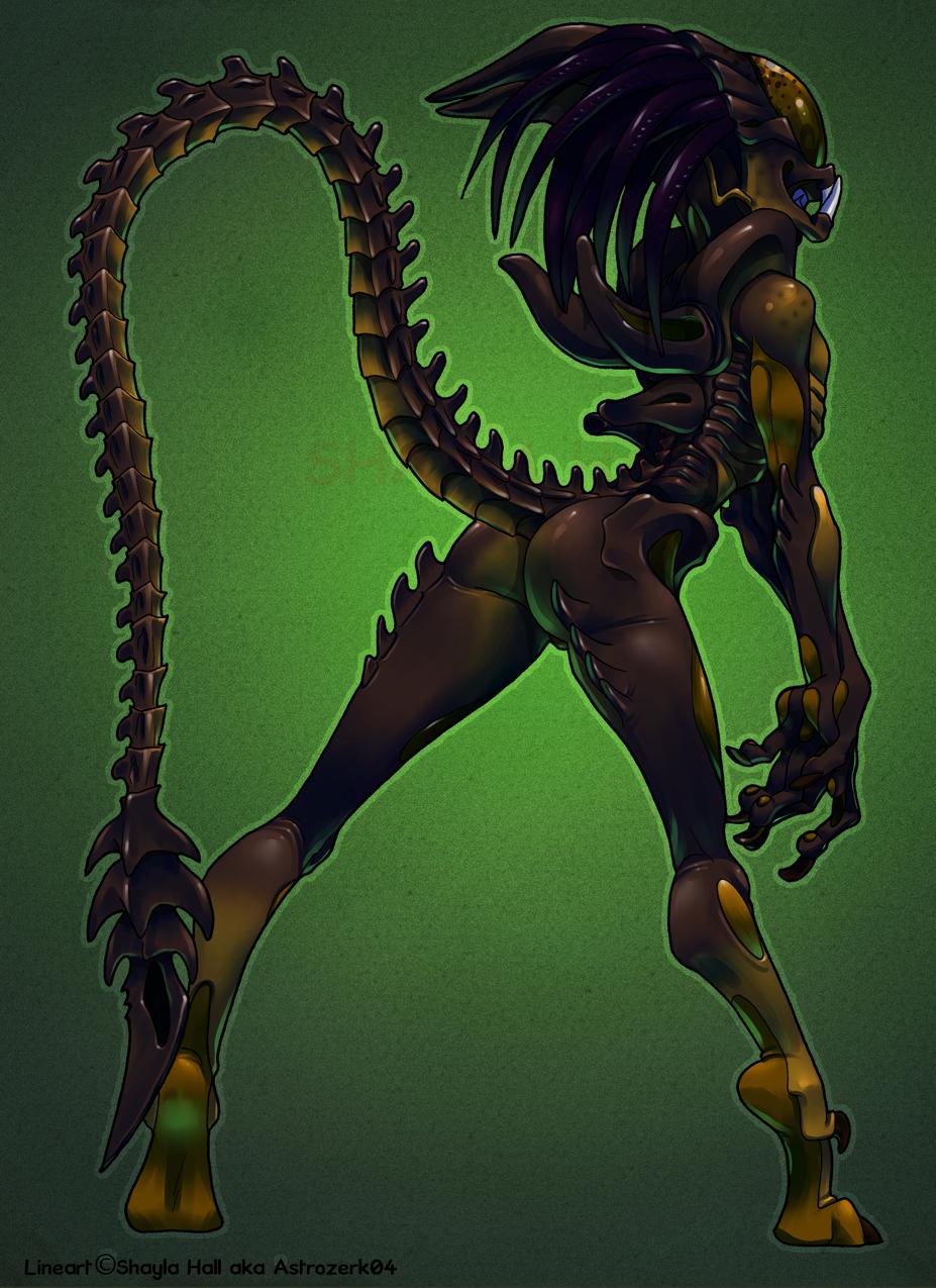 vs predator alien Breath of the wild falco