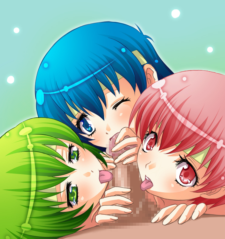 red grif vs blue sister Date a live yoshino naked