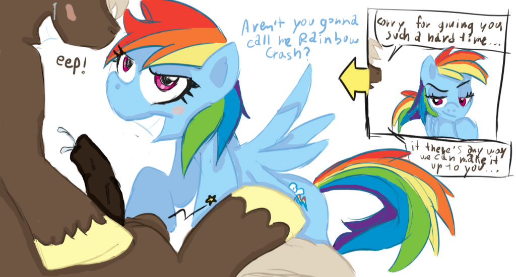 dash fan rainbow art mlp Trials in tainted space debug mode