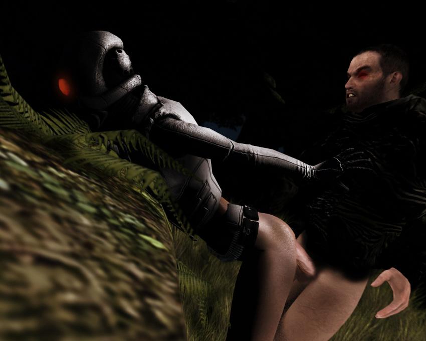 2 combine female half life High elf archer goblin slayer