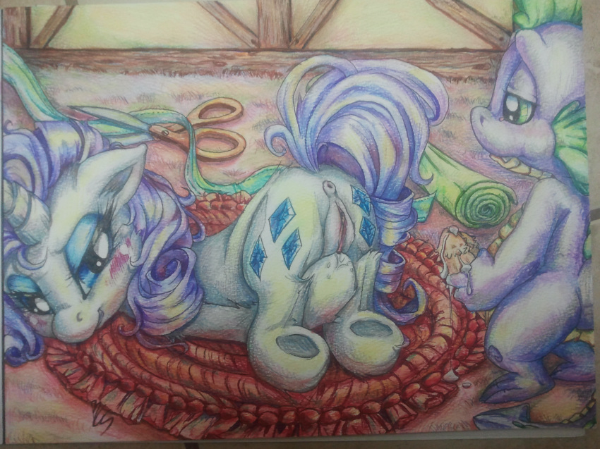 spike and mlp fanfiction rarity Pokemon x and y emma