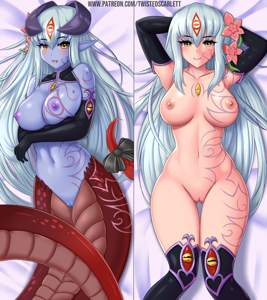 quest monster girl girl dragon Gaping pussy filled with cum