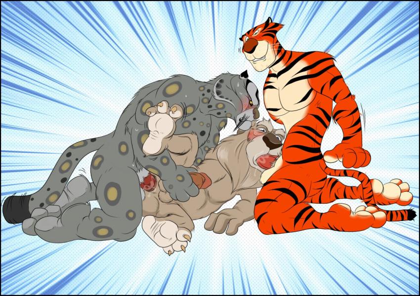 panda feet fu kung tigress Red blood cell hataraku saibou