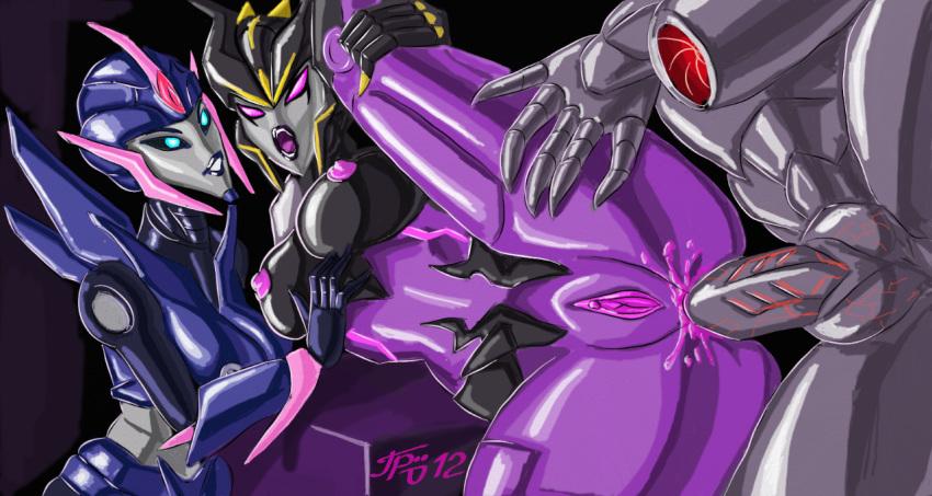 arcee transformers prime Mlp equestria girls vinyl scratch