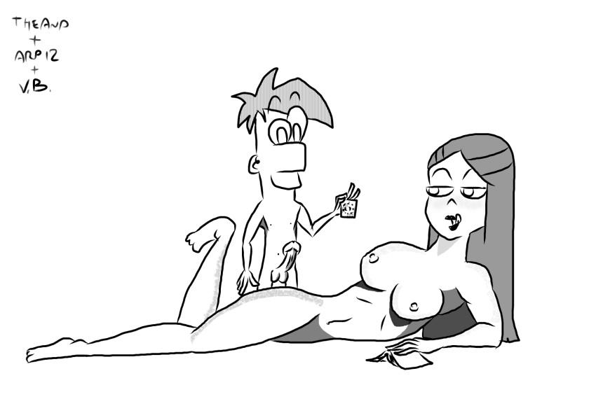 ferb vanessa nude and phineas Dlis - night of revenge