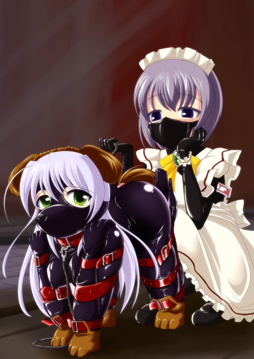 gagged anime girls bound and Yoake mae yori ruri iro na crescent love