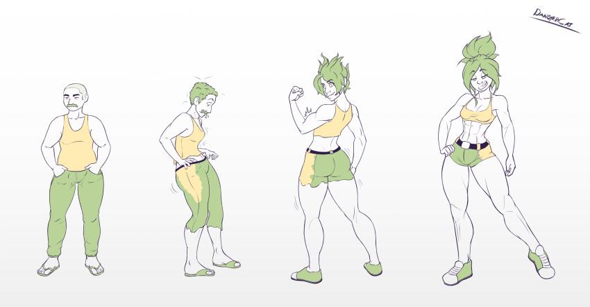 anime female to transformation male Batman assault on arkham sex