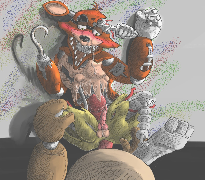 fox pirate muscle foxy the Five nights at freddy's chicken