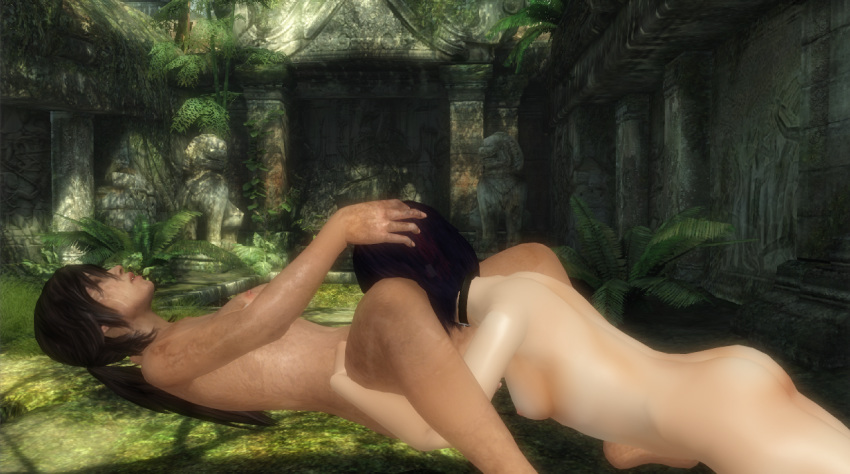 lara and sam croft nishimura Kill la kill ragyo hentai