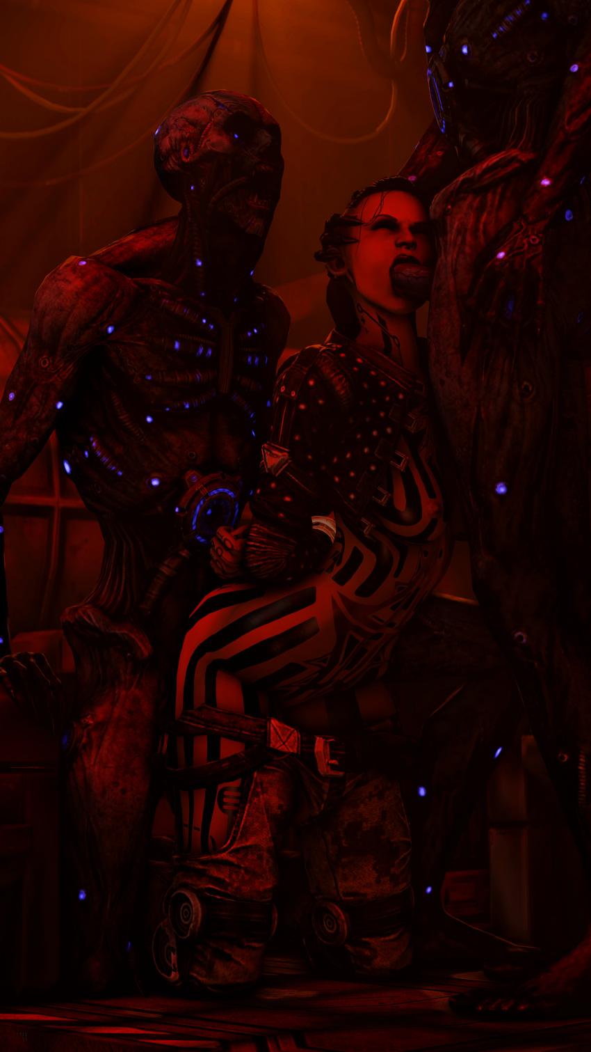ken mass and 3 effect gabby Lesbian spider queen of mars