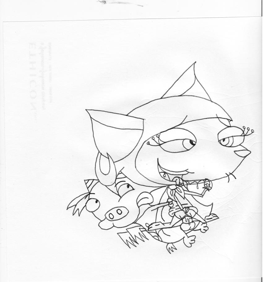 cowardly courage dog the bone Lana pokemon sun and moon
