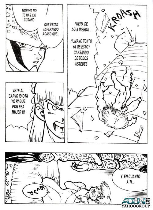 cell (dragon ball) Mahou shoujo of the end yoruka