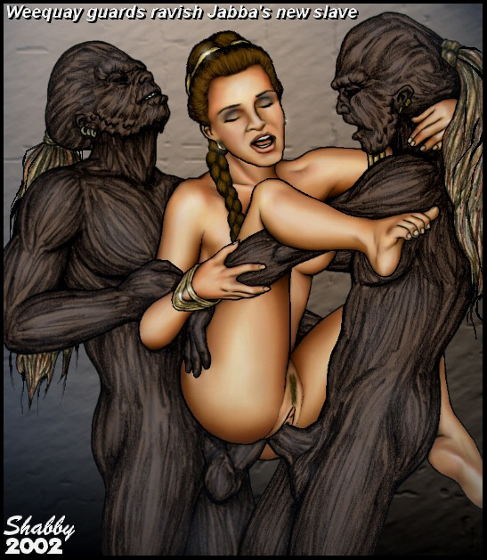 costume wardrobe leia malfunction slave princess Forest_of_the_blue_skin