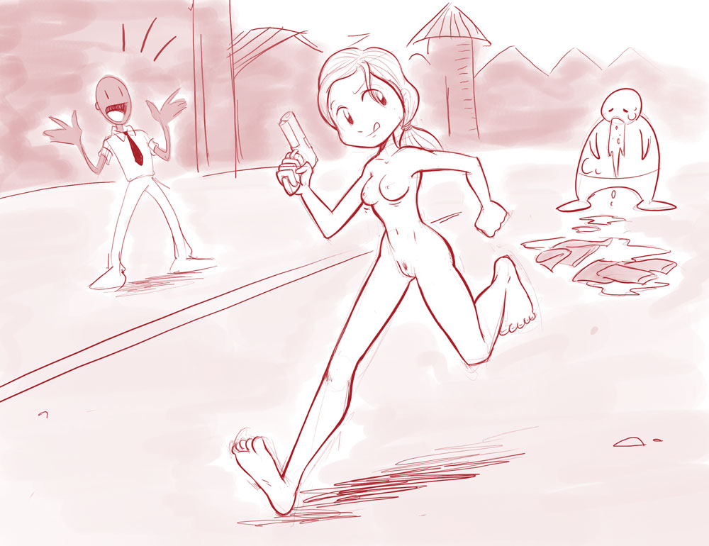 from witch left 4 dead What if adventure time was a 3d game