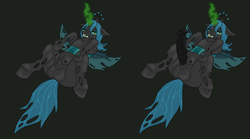 my from pony queen chrysalis little Ya-ku with that