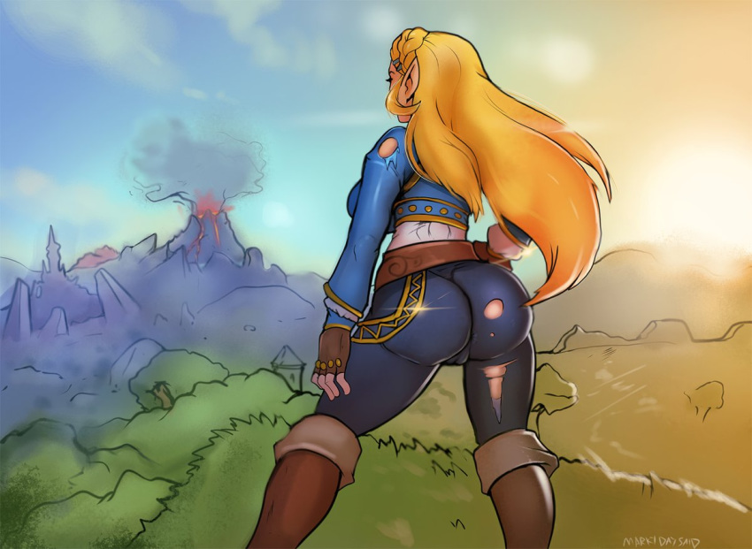 the breath zelda's wild of ass Hunchback of notre dame madellaine
